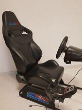 CNE Game Seat mit Logitech G27 racing PC und PS3 Lenkrad, wenig benutzt wie Neu!