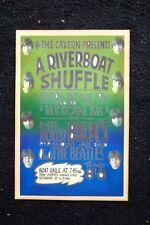 Beatles Tour Poster 1961 A Riverboat Shuffle Liverpool Landi