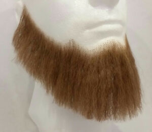 Light Brown Human Hair Full Character Professional Costume Beard 2024