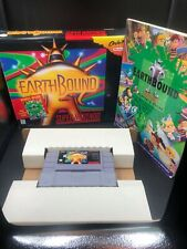 EarthBound Super Nintendo SNES CIB Complete Box Guide Scratch & Sniff Cards lot1