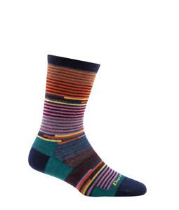USA 1692 NAVY DARN TOUGH PIXIE CREW Light Womens Run Socks S M L Wool