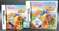 Spiel: BARBIE ABENTEUER REITERCAMP für Nintendo DS + Lite + Dsi + XL + 3DS 2DS