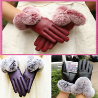 Womens Winter Warm Touchscreen Texting Fleece Lined Windproof Driving Gloves