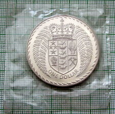 NEW ZEALAND 1976 1 DOLLAR, CROWNED SHIELD, PROOF SEALED IN PLASTIC