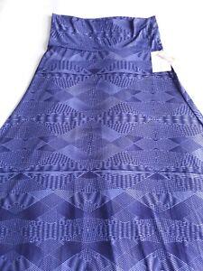 NWT Lularoe Skirt Dress Convertible Purple Maxi Size Large