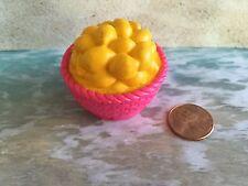 BARBIE BRATZ LOVING FAMILY DIORAMA BASKET OF LEMONS FRUIT DISPLAY