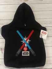 Petco Star Wars Light Up Light Saber Hoodie for Dogs Sz XL