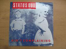 """STATUS QUO - AIN'T COMPLAINING Vinyl 12"""" UK 1988 Soft Rock VERTIGO - QUO 2212"""