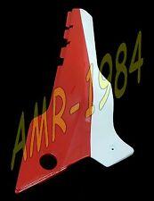 CARENA LATERALE SX APRILIA AF1 125 REP. 87 VERNICIATA BIANCO ROSSA  AP8130528