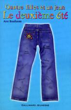 Livre  -  Quatre Filles Et Un Jean T.2 ; Le Deuxième été - Ann Brashares