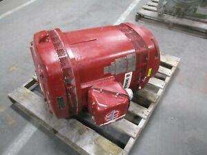 US Motors Vertical Mount AC Motor BH38 125HP 1800RPM 460V 146A 3Ph 60Hz Used