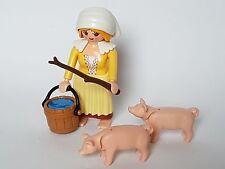 Playmobil Weihnachten Pastora mit Zubehör, Bäuerin Custom Portal mit Schweine