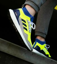 Adidas Consortium Ultra boost Mid Prototype Solar Yellow Blue BD7399
