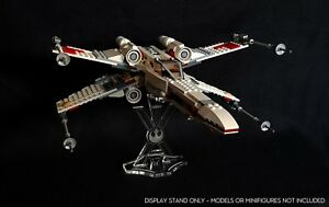 Display stand straight for Lego 9493/75102/75149 X-Wing fighter (Star Wars)