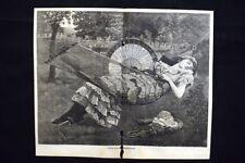 Voluttà estive Incisione del 1885