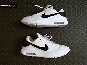 Nike Air Max Oketo Casual Shoes Ivory White Black US Size 9.5 Women AQ2231-100