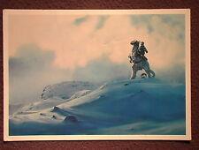 "Star Wars VINTAGE 1980 Luke on Tauntaun Wendy's Promo Color 4""x7"" Trading Ca"