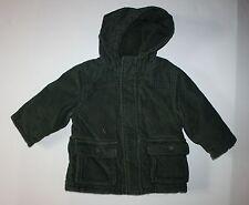 New Gymboree Green Corduroy Jacket Coat Size 12-24 M NWT Dinosaur Tracking
