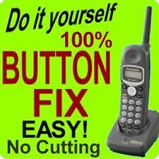Panasonic Keypad Button Repair Fix KX-TG2382b KX-TGA230S KX-TGA230B KX-TGA230W