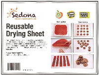 3-Pack BPA/Teflon-Free Drying Sheets Sedona Dehydrator
