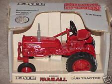 ERTL 1/16  IH FARMALL CUB 1ST EDITION TRACTOR SE