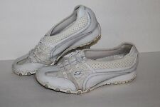 Skechers Sassies Heirloom Bungee Casual Shoes, #21224, Wht/Silver, Women's 10