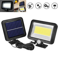 100 LED Solar Motion Sensor Spot Light Outdoor Garden Security Lamp Floodlight