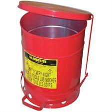 Justrite 09100 6 Gallon Oily Waste Can