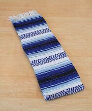 #11 Mexico Car Blanket Yoga Pilates Mat Throw Cover Picnic Curtain Afghan Blue