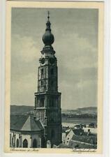 AK Braunau am Inn, Stadtpfarrkirche, 1921