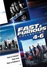 Fast & Furious Collection 4 - 6 DVD