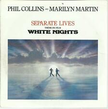 45 TOURS  2 TITRES / PHIL COLLINS and MARILYN MARTIN  BOF WHITE NIG           A3