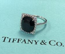 Tiffany & Co. Spinel Diamond Ziegfeld Silver Ring Size 7