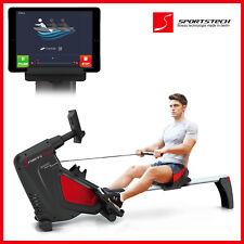Sportstech RSX500 rowing machine + smartphone app control indoor rower workout