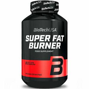 BIOTECH USA FAT BURNER 120 TAB. Ein leistungsstarker Fatburner - Fettverbrenner