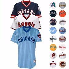 """MLB Authentic On-Field """"dar marcha atrás al reloj"""" Throwback Jersey Colección-Para Hombre"""