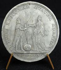 Médaille La majorité du Roi Louis XIV & la Rein Mère LEGITIMAM 1651 Mauger medal