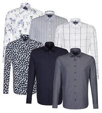 Seidensticker Herren Langarm Hemd Tailored Button-Down-Kragen BD Divers 01