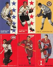 1964-65 PARKHURST PARKIES REPRINTS  lot of 6 DIFFERENTS STARS near mint