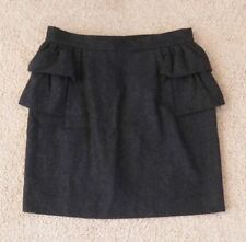 Review Above Knee Polyester Solid Skirts for Women