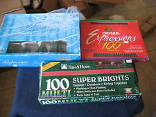 Vintage Christmas Lights Strings~ NOMA, LIGHT SCAPE, & TRIM A HOME ~THREE Sets