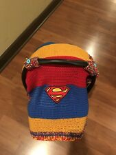 baby car seat cover handmade from Super Man