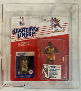 1988 Starting Lineup  AFA 85 NM+, Magic Johnson, NBA L.A. Lakers