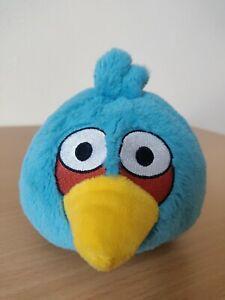 "Angry Birds Blue Jay 5"" Plush Stuffed Animal Doll No Sound Jim Commonwealth"