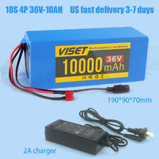 36V 10Ah ebike Lithium li-ion Battery Pack 500W  Electric Bicycle E Bike charger