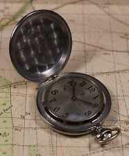 1970s MOLNIYA MOLNIJA MOLNIA POCKET WATCH USSR SOVIET ERA