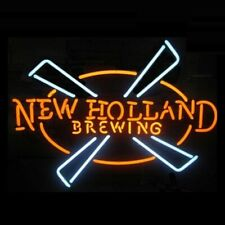 "New Holland Brewing Neon Light Sign 24""x20"" Beer Bar Decor Lamp Glass"