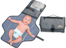 Portable Changing Pad Diaper Clutch Lightweight Travel Station for Baby Diape.