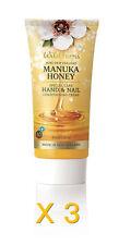 3 X New Wild Ferns Manuka Honey Special Care Hand and Nail Creme 85ml Hand Cream