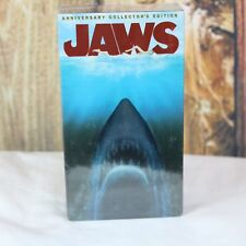 NEW! JAWS VHS 2 Tape Set, 25th Anniversary Collector's Edition, Sealed